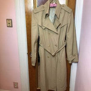 Searle classic trench coat